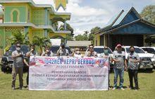 Rayakan HUT Ke-76 RI, Komunitas ID42NER Chapter Kepri dan Minang Bagi-bagi Ratusan Paket Sembako