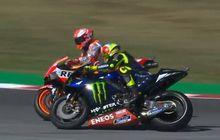 valentino rossi dan marc marquez saling tuduh soal insiden di kualifikasi motogp san marino