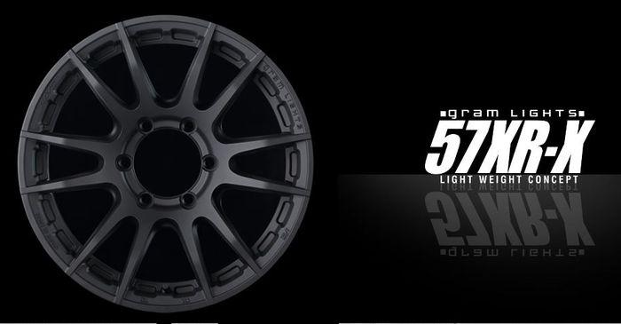Pelek Gram Lights 57XR-X bikinan Rays Wheels, Jepang.