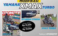 Tabloid OTOMOTIF Edisi 12-XXXI Terbit, Ulas Skutik Benelli Panarea 125 Hingga Yamaha XMAX Turbo