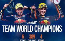 Duo Pembalapnya Naik Podium di Moto3 Emilia Romagna 2021, Tim Red Bull KTM Ajo Jadi Tim Juara Dunia Moto3, Nasib Tim Rider Indonesia Gimana?