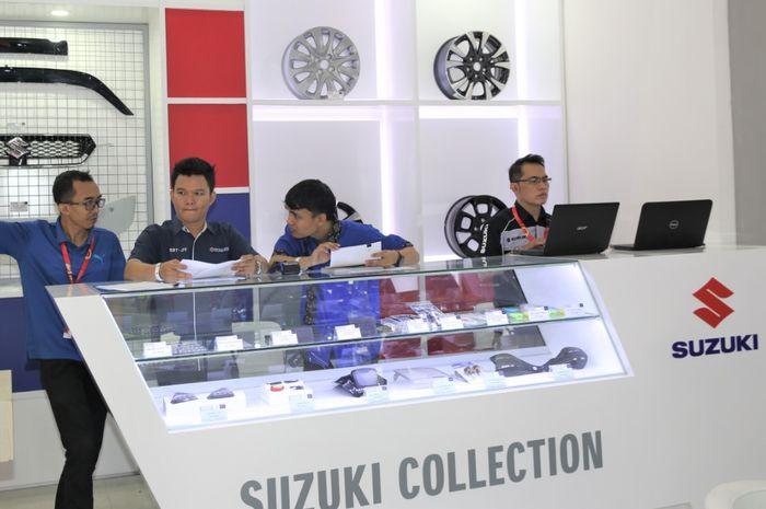 Tren positif peningkatan penjualan suku cadang dan aksesori resmi Suzuki tersebut, meliputi SGP (Suzuki Genuine Parts), SGO (Suzuki Genuine Oil), dan SGA (Suzuki Genuine Accessories)