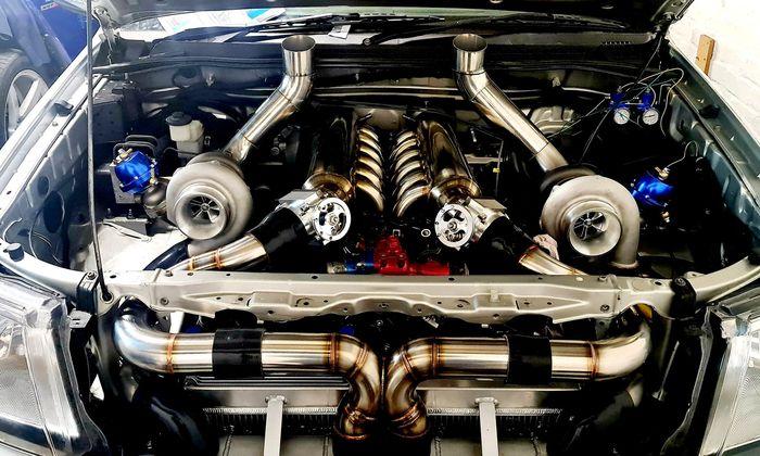Unit berkode 1GZ-FE milik Century dipasangkan ke Toyota Hilux