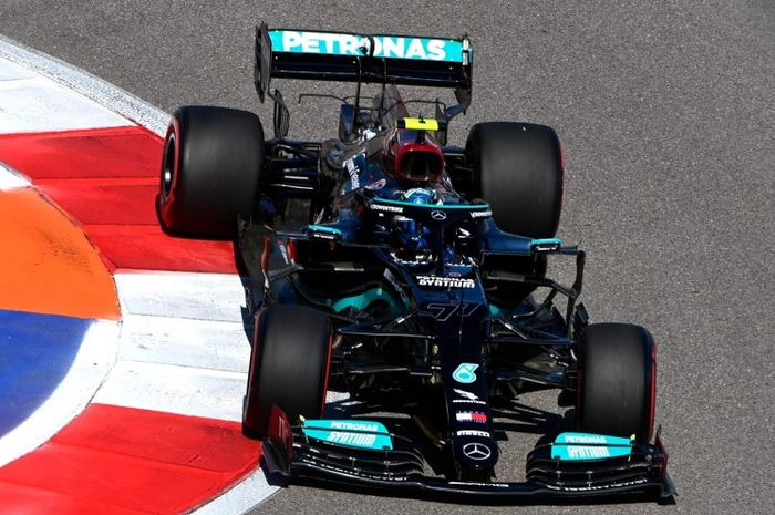 Dapat penalti sebelum balapan, Valtteri Bottas akan start dari posisi 17 di F1 Rusia 2021 di Sirkuit Sochi