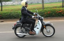 So the cheap version of the Honda Super Cub C125, installments of the SM Sport SM Classic, only Rp. 500 thousand!  This is the Credit Scheme