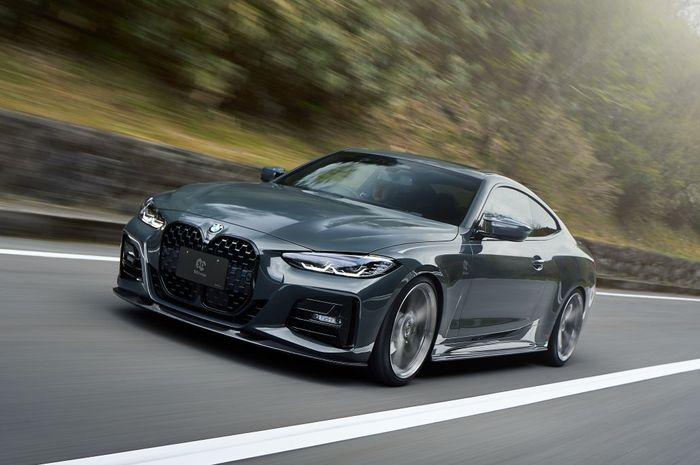Modifikasi BMW Seri-4 baru hasil garapan 3D Design, Jepang