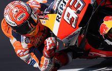 hasil kualifikasi motogp inggris 2019:  marc marquez raih pole position, valentino rossi kalah tipis