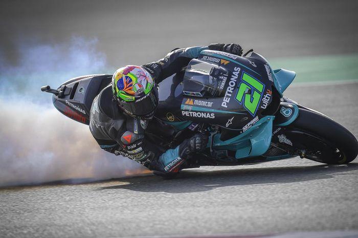Motor Yamaha yang dikendarainya mengeluarkan asap di FP1 MotoGP Doha 2021, Franco Morbidelli tegaskan masalahnya beda dengan musim Lalu