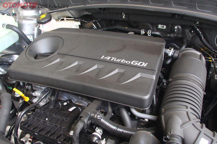 KIA Seltos dibekali mesin direct injection Kappa 1.4 liter Turbo, Dual CVVT