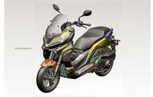 Lebih Macho Dibanding ADV150, Inikah Sosok Honda ADV Bermesin 350 Cc