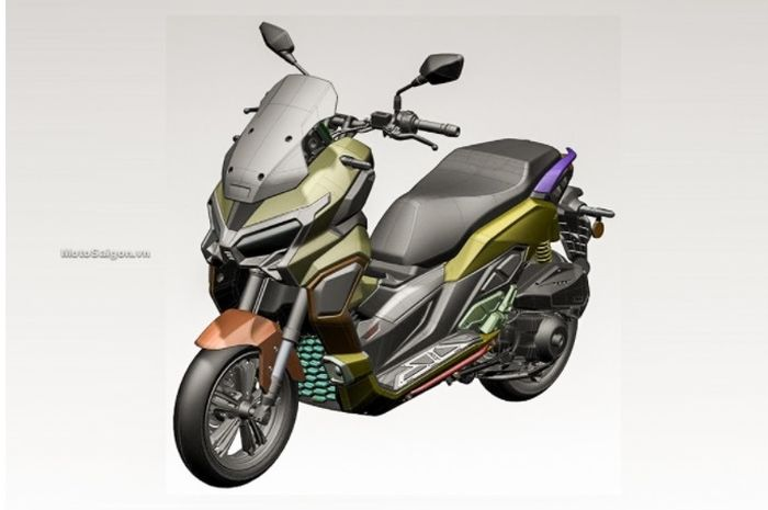 Skutik ini diperkirakan adalah Honda ADV 350