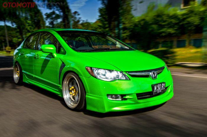 Ilustrasi Honda Civic FD1