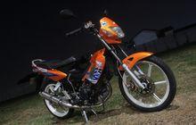 Tua-tua Keladi, Honda Nova Sonic 125 RS Pamer Tongkrongan Racing