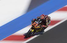 Hasil Warm Up Moto2 San Marino 2021 - Augusto Fernandez Tercepat Jelang Balap, Pembalap 'Tim Indonesia' Masuk 10 Besar