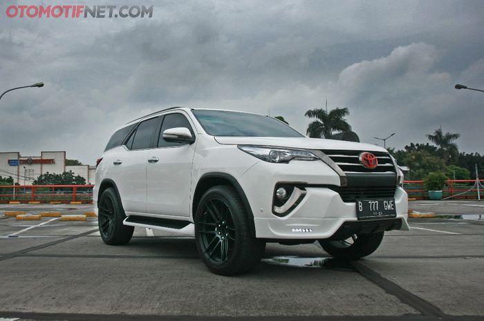 Modifikasi Toyota All-New Fortuner