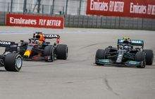 Digadang-gadang Jadi Rintangan Berat, Valtteri Bottas Malah Kasih Jalan Buat Max Verstappen di F1 Rusia 2021