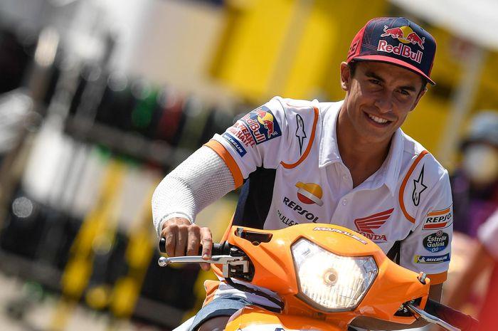 Tertinggal 50 Poin, Dorna Sport yakin Marc Marquez bisa kejar poin milik Fabio Quartararo di klasemen MotoGP 2020