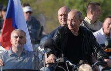 presiden rusia kena 'semprit' warga negaranya sendiri, cuma gara-gara helm sob!