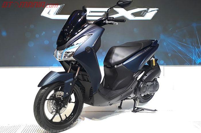 Yamaha Lexi 125 siap produksi Maret mendatang dan dirakit 20.000 unit perbulan