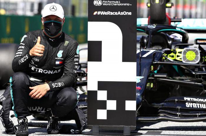 Valtteri Bottas raih pole position di F1 Austria 2020