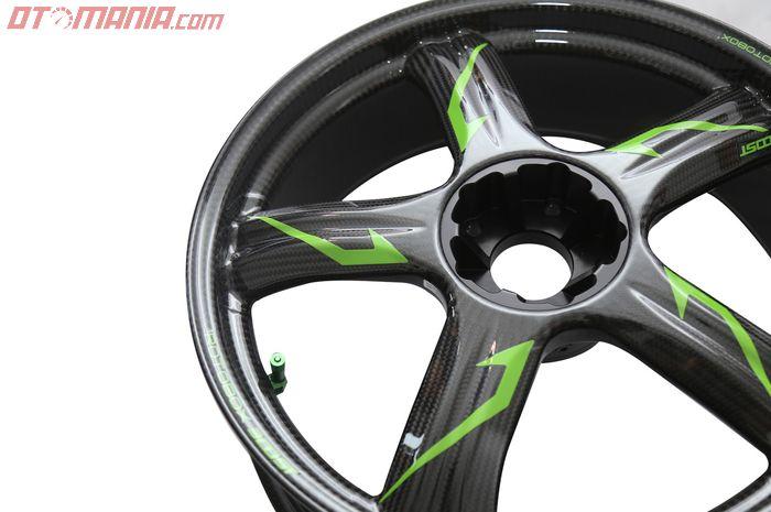 Pelek Rotobox Boost untuk Kawasaki Ninja H2