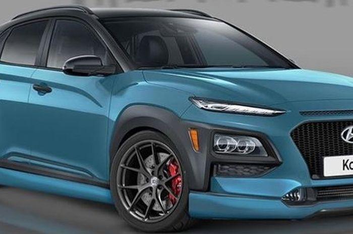 Modifikasi digital Hyundai Kona