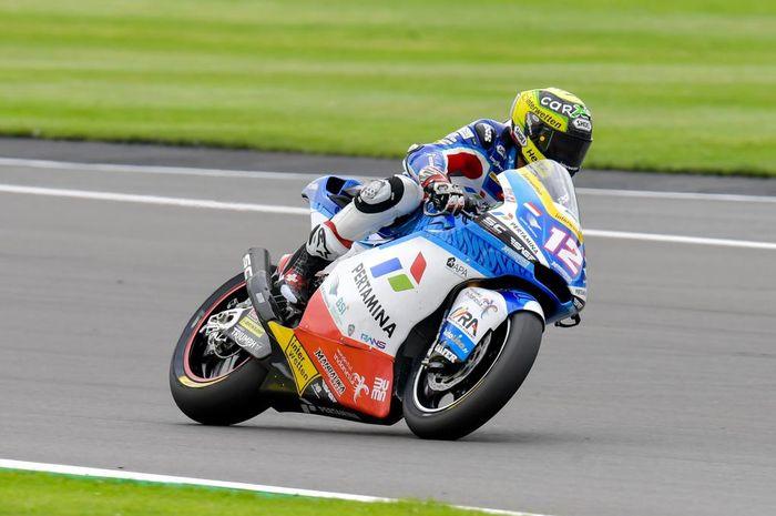 Sirkuit Misano dalam kondisi basah, Thomas Luthi jadi pembalap tercepat pada sesi FP1 Moto2 San Marino 2021