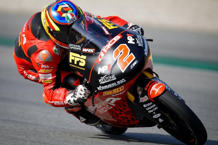 Hasil Kualifikasi Moto3 Catalunya 2021: pembalap 'Tim Indonesia' Gabriel Rodrigo pole position, Andi Gilang di belakang Pedro Acosta