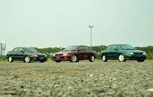 Trio Mitsubishi Lancer GTi Enggan Convert Evo, OEM Look Jadi Jawaban
