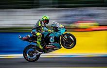 Tak Masuk 10 Besar di MotoGP Prancis 2021, Valentino Rossi Tetap Senang Karena Hal Ini