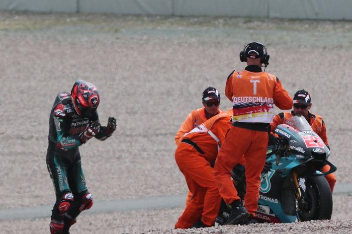 Pembalap Petronas Yamaha SRT, Fabio Quartararo mengaku memetik pelajaran berharga usai terjatuh di MotoGP Jerman 2019