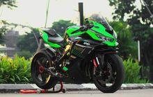 Kawasaki Ninja ZX-25R Jajan Rp 250 Juta, Tampang Nyerempet Superbike