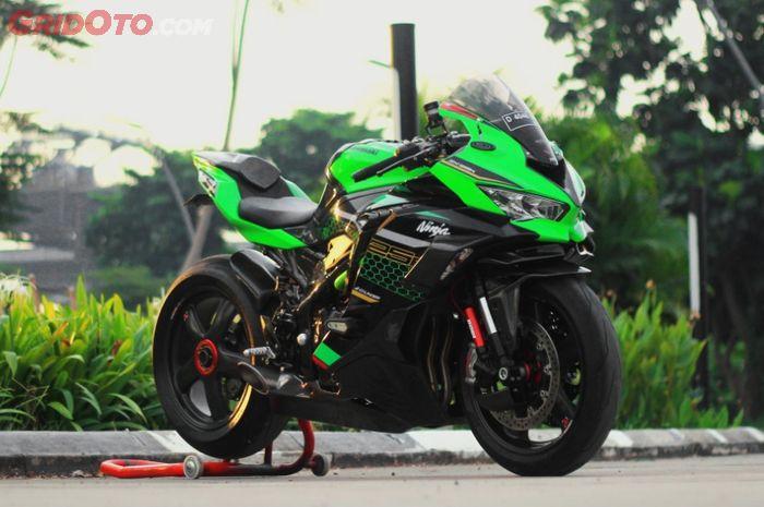Modifikasi Kawasaki Ninja ZX-25R hedon berkonsep superbike