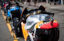 Ini Alasan Tangki Motor MotoGP Ditutupi Pakai Aluminium Foil Sebelum Balap, Belum Banyak Yang Tahu