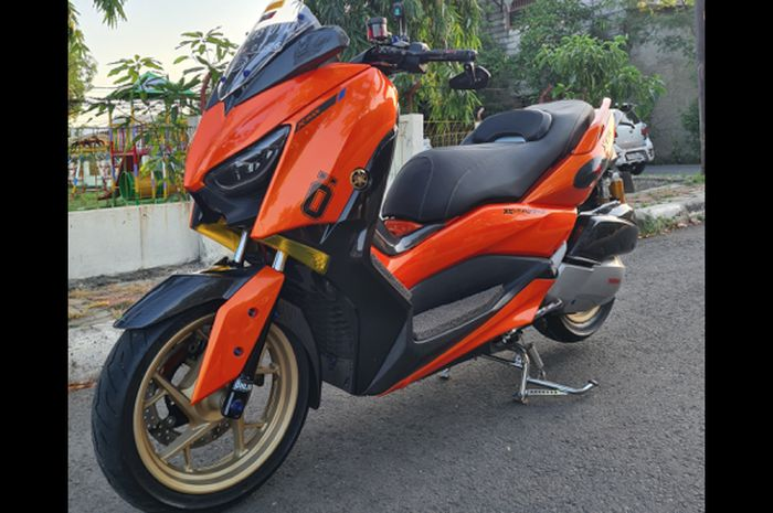 Yamaha XMAX bore up mesin 300cc