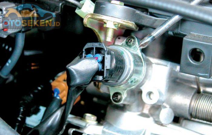 Ilustrasi idle speed control (ISC) Avanza - Xenia