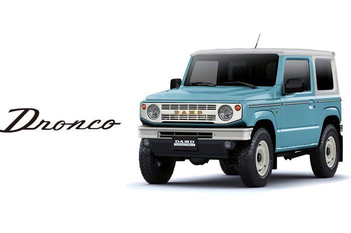 2017 Ford Bronco >> New Jimny Mirip Ford Bronco Dan Jimny Jangkrik Body Kit