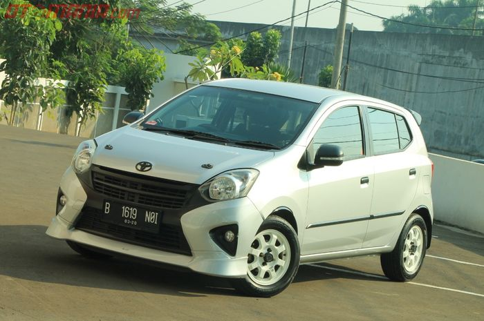 Ilustrasi Toyota Agya