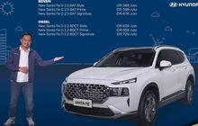 Hyundai Santa Fe 2021 Meluncur, Ada 6 Varian, Mulai Rp 569 Juta