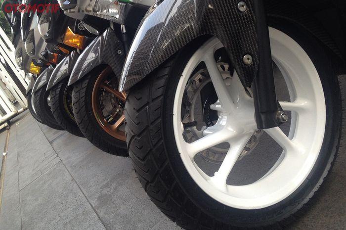 Zeneos Milano untuk Yamaha NMAX bakal hadir dalam ukuran standar
