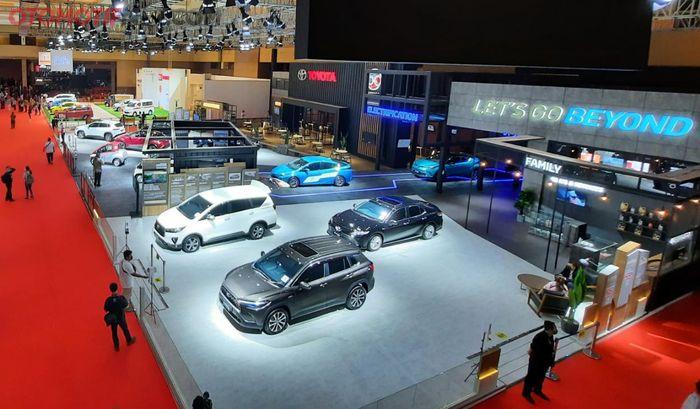 Booth Toyota T IIMS Hybrid 2021