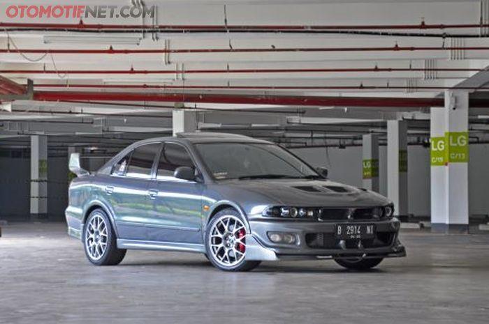 Mitsubishi Galant V6 keluaran 200 milik Ifan yang dapatnya sudah diconvert jadi kasta tertinggi Super VR4