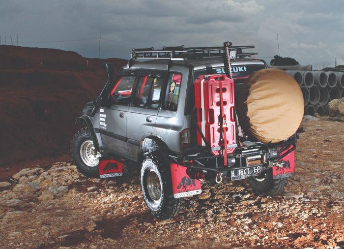 Modifikasi sederhana Suzuki Vitara 1.6 EPI untuk off-road ekspedisi