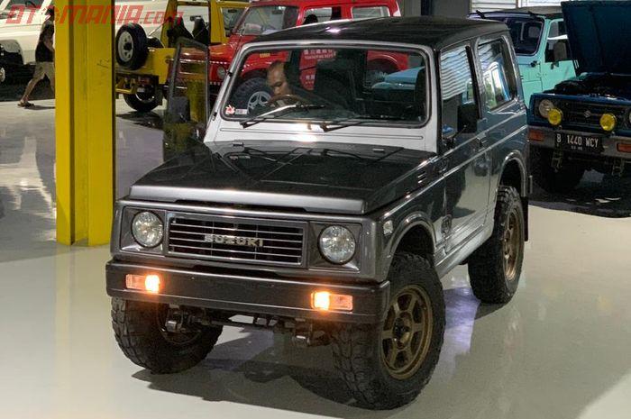 Ilustrasi Suzuki Katana jadi atap trepes.