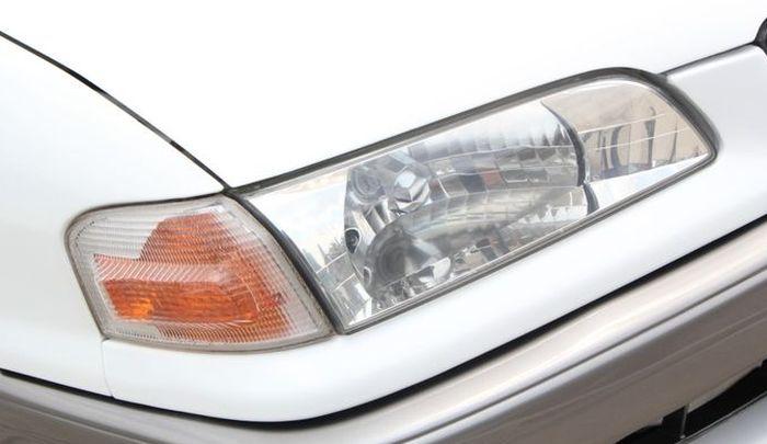 Headlamp diganti  versi clear