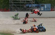 Ngeri! Ternyata Begini Pentingnya Pelindung Tuas Rem Motor MotoGP, Para Pembalap Hebat Ini Pernah Jadi Korban