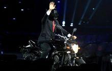 Stunt Rider Pengganti Jokowi Di Video Pembukaan Asian Games 2018 Ternyata Sudah Biasa Freestyle Pakai Moge