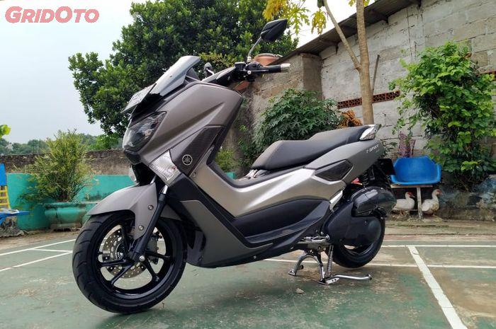 Yamaha NMAX modikasi simpel