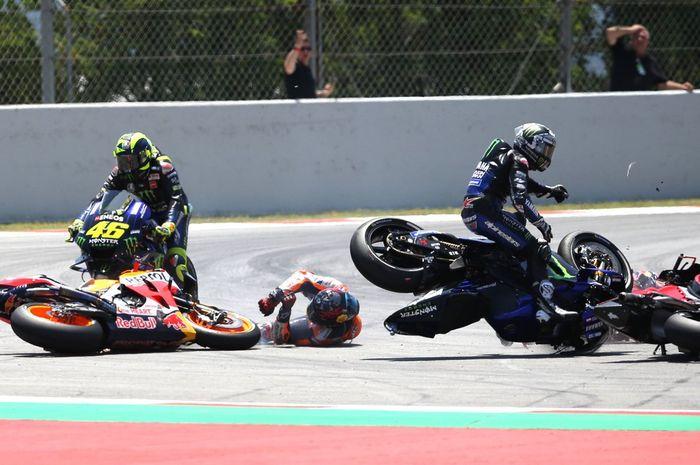 Tikungan 10 Circuit de Barcelona-Catalunya dimodifikasi