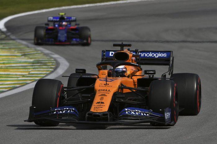 Carlos Sainz, pembalap tim McLaren